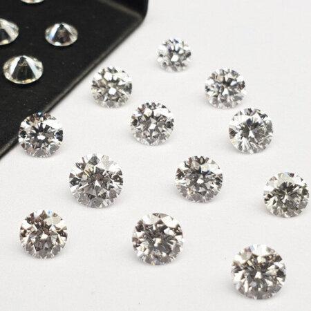 Round Shape  - Lab Grown HPHT Diamond