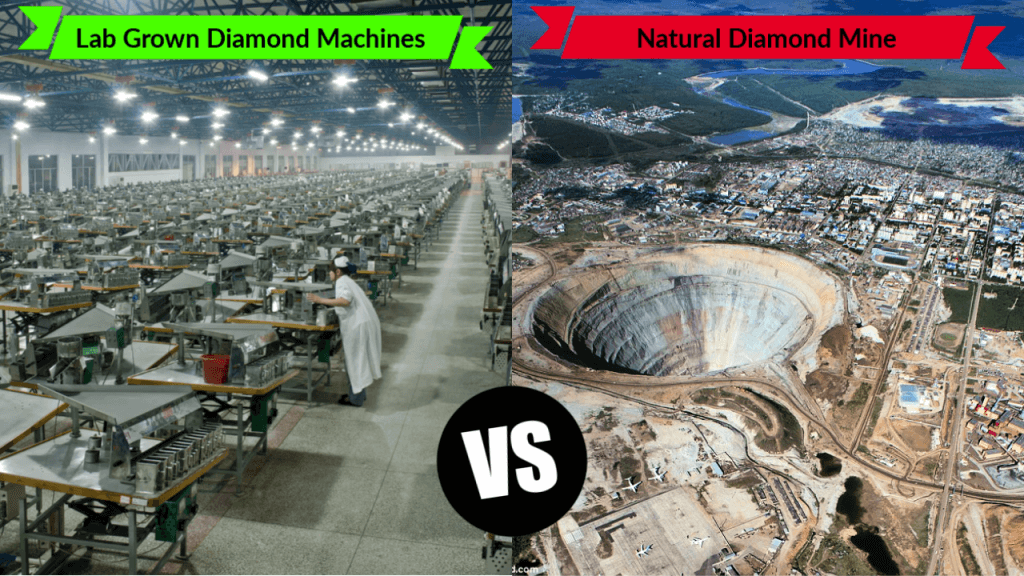 Lab Vs Mined Diamond Production